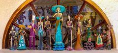 Figuren zum Dia de Muertos