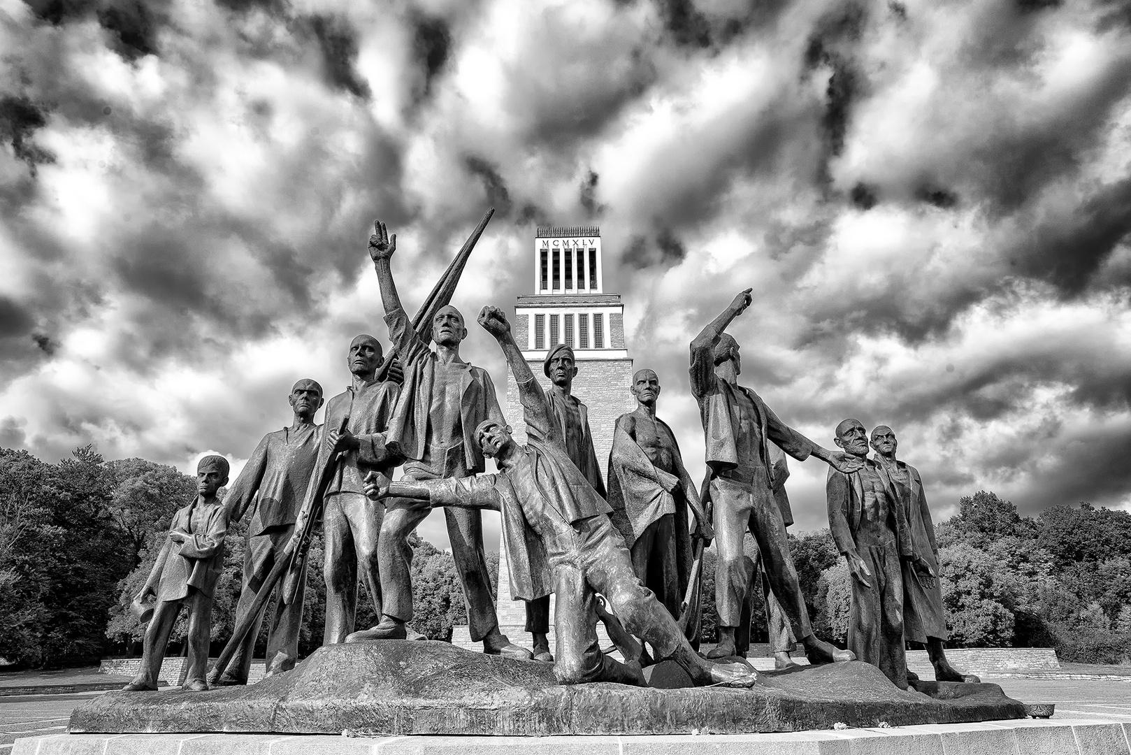 Figurengruppe Buchenwald 1970