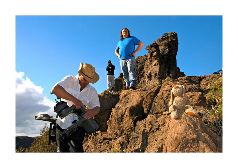 Fikki in den Bergen von Gran Canaria