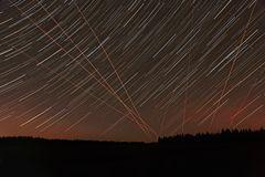 filé d'étoiles et vols de nuit