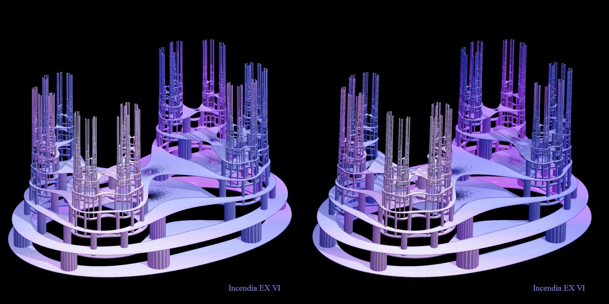 Filigrane künstliche Strukturen