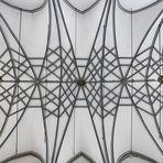 filigranes Gewölbe der Jesuitenkirche in Bad Münstereifel