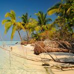 Filitheyos kleine  Robinson Insel