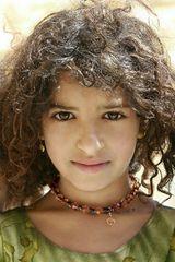 Fillette yéménite au collier