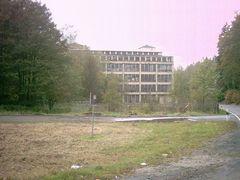 Filztuchfabrik Rodewisch Ansicht von Wernesgrün kommend