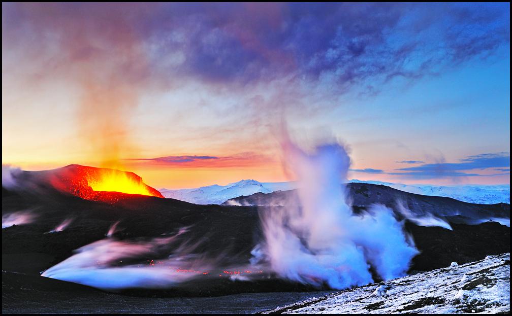 Fimmvörðuháls Eruption IV