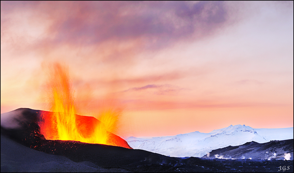 Fimmvörðuháls Eruption V