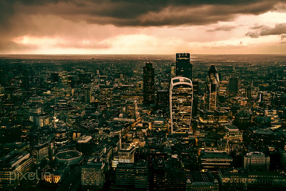 financial centre of london