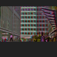 Financial District II 3-D