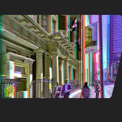 Finanzviertel von Toronto 3-D