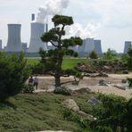 Findlingspark und Kraftwerk