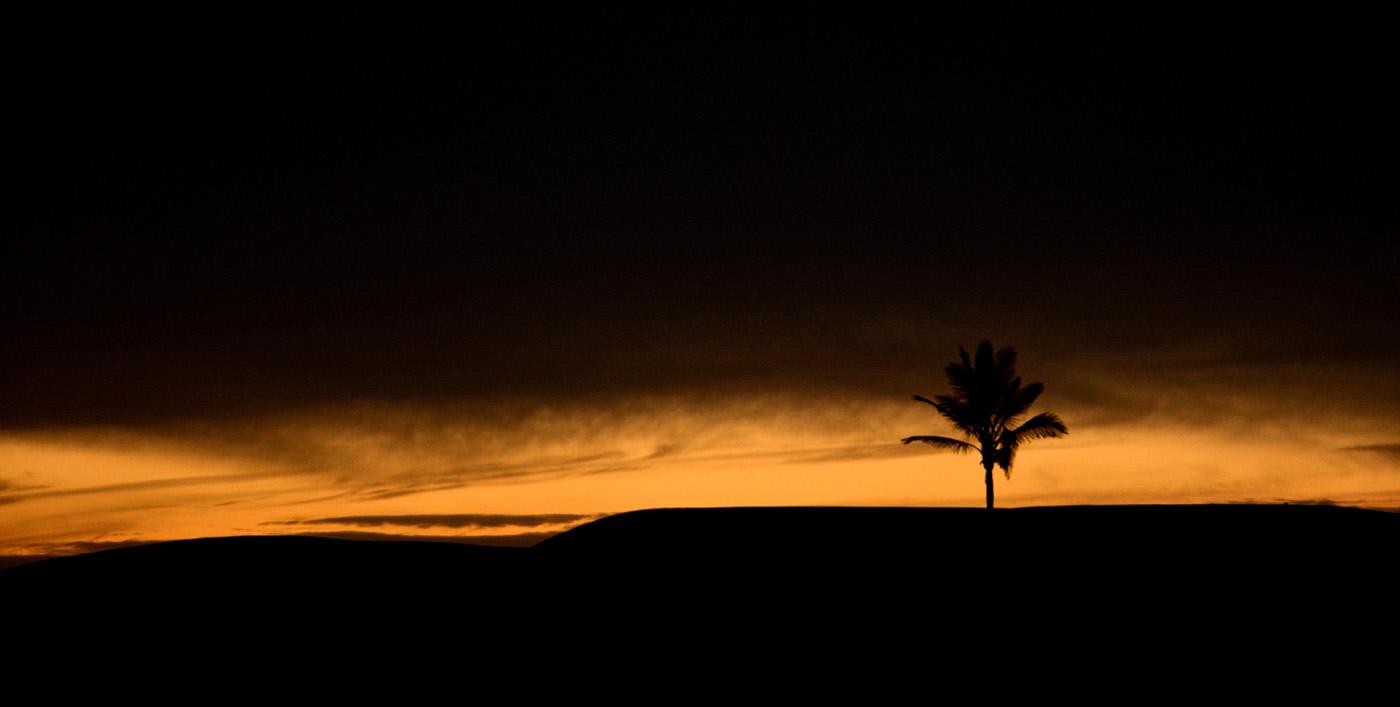 Fine di un tramonto