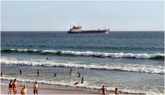 Fine giornata al mare...ricordando l`estate.