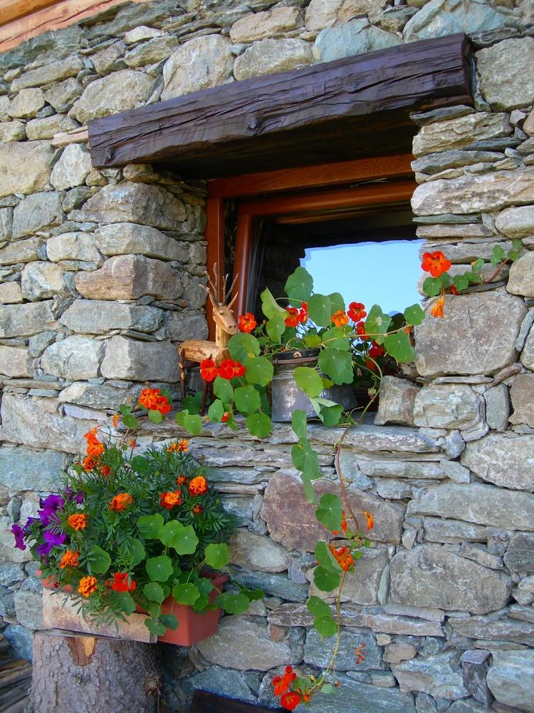 finestra di baita