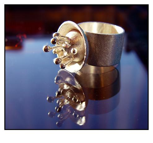Fingerring aus Silber