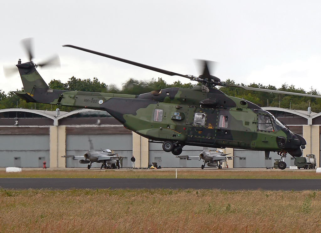 Finland Airforce ; Eurocopter NH-90 ; NH-202
