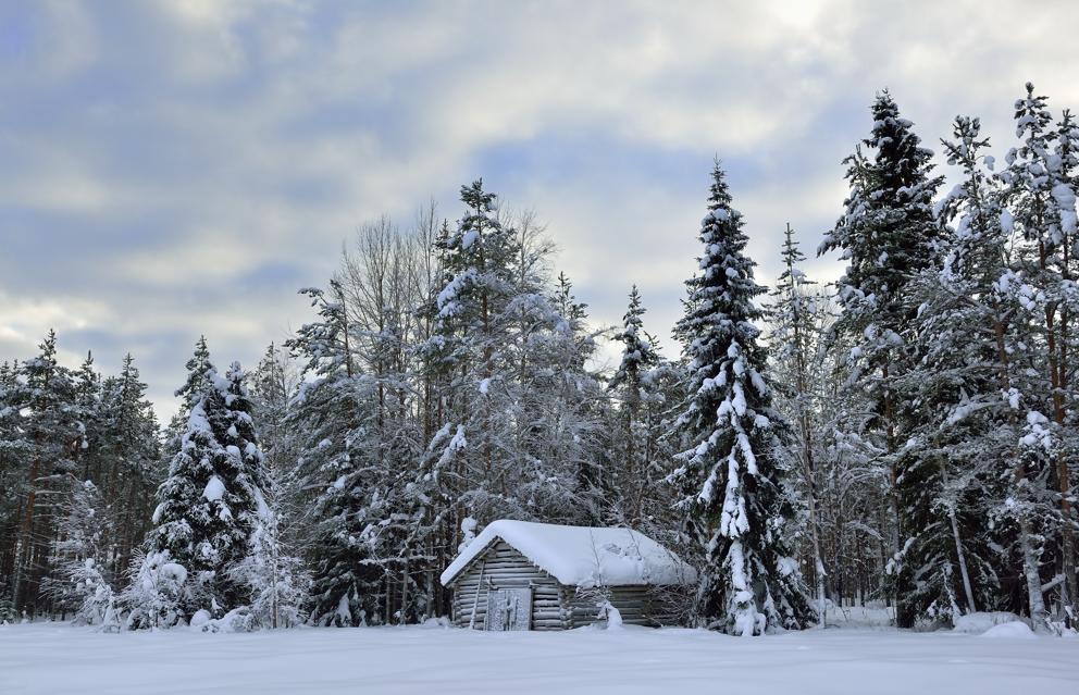 finnisch Lappland, im Februar 2013