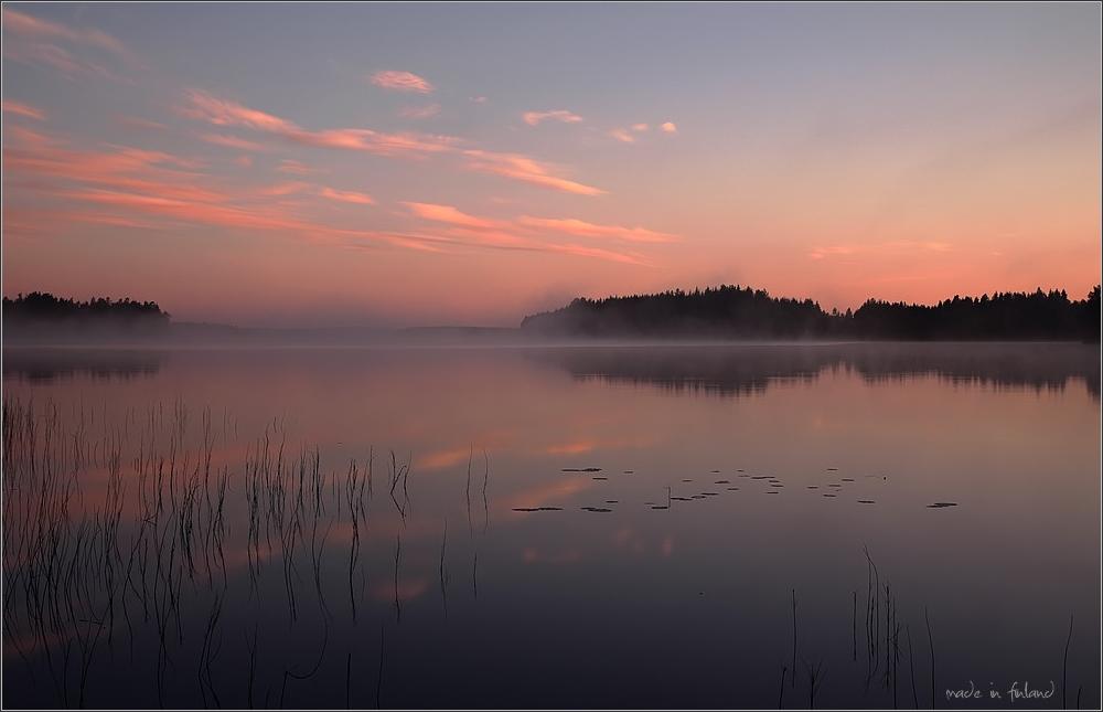 finnisches Morgenlicht