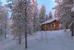 Finnland zur Polarnacht