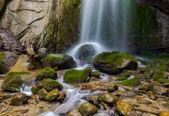 """Finstersee Wasserfall II"""
