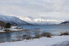 Fiordlandschaft bei Harstad