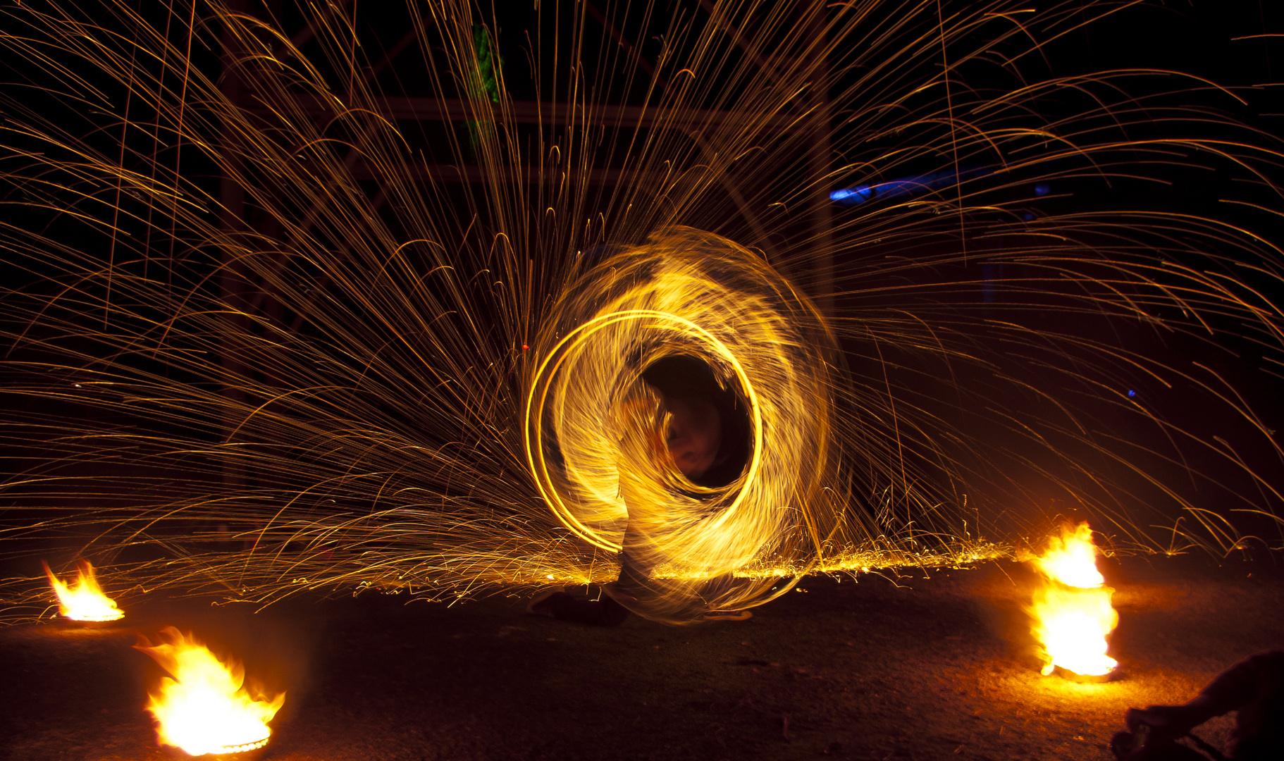 ... fire
