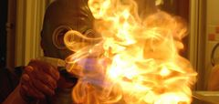 Fire games can be hazardous, avoid them.