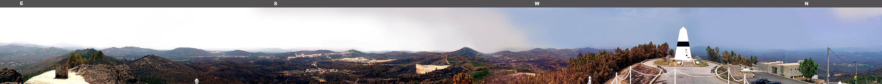 Fire in portuguese forest - 2003