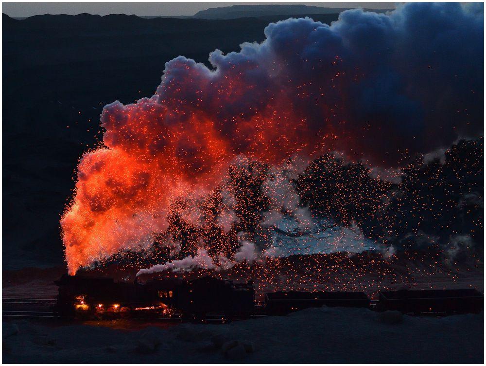 Fire in the Sky  V