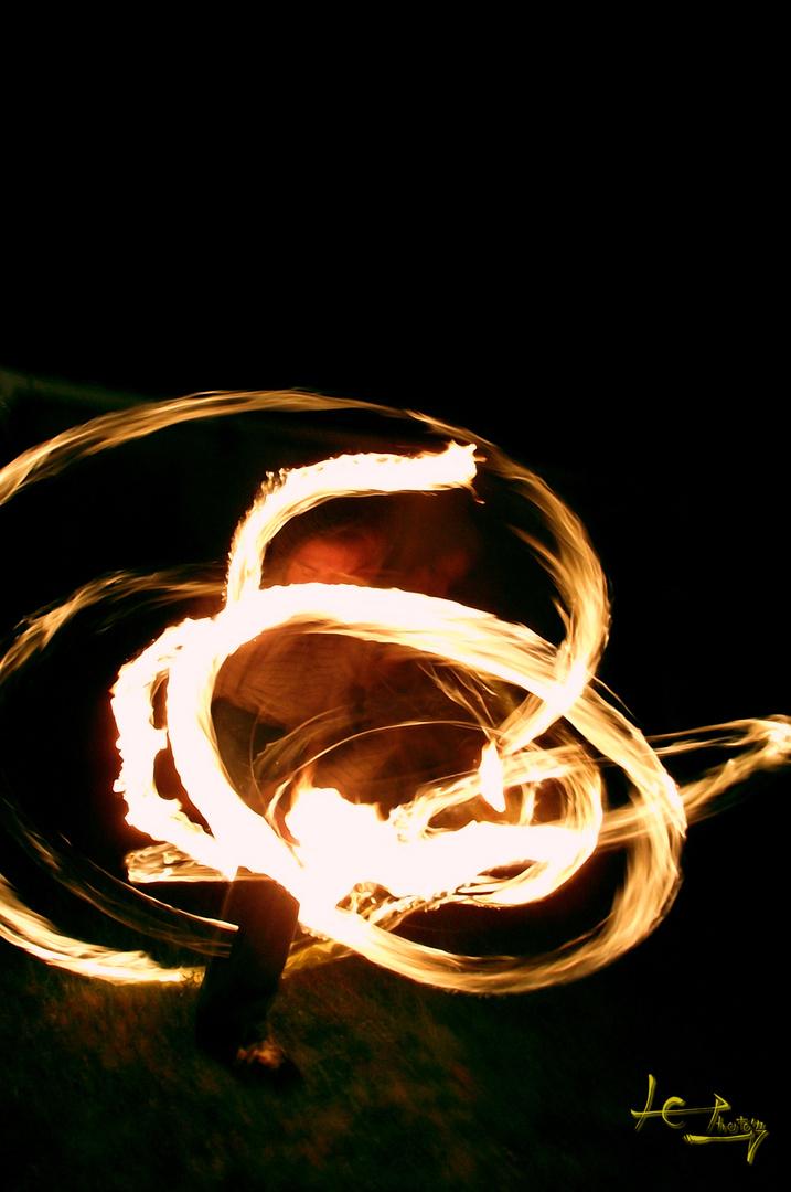 fire nunchuk