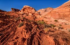 Fire Wave 1, Valley of Fire SP, Nevada, USA