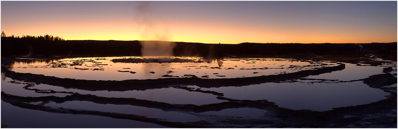 Firehole River Sunset