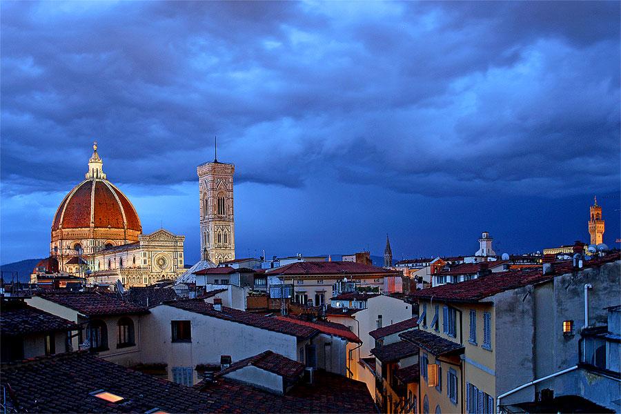 Firenze e l'ora blu