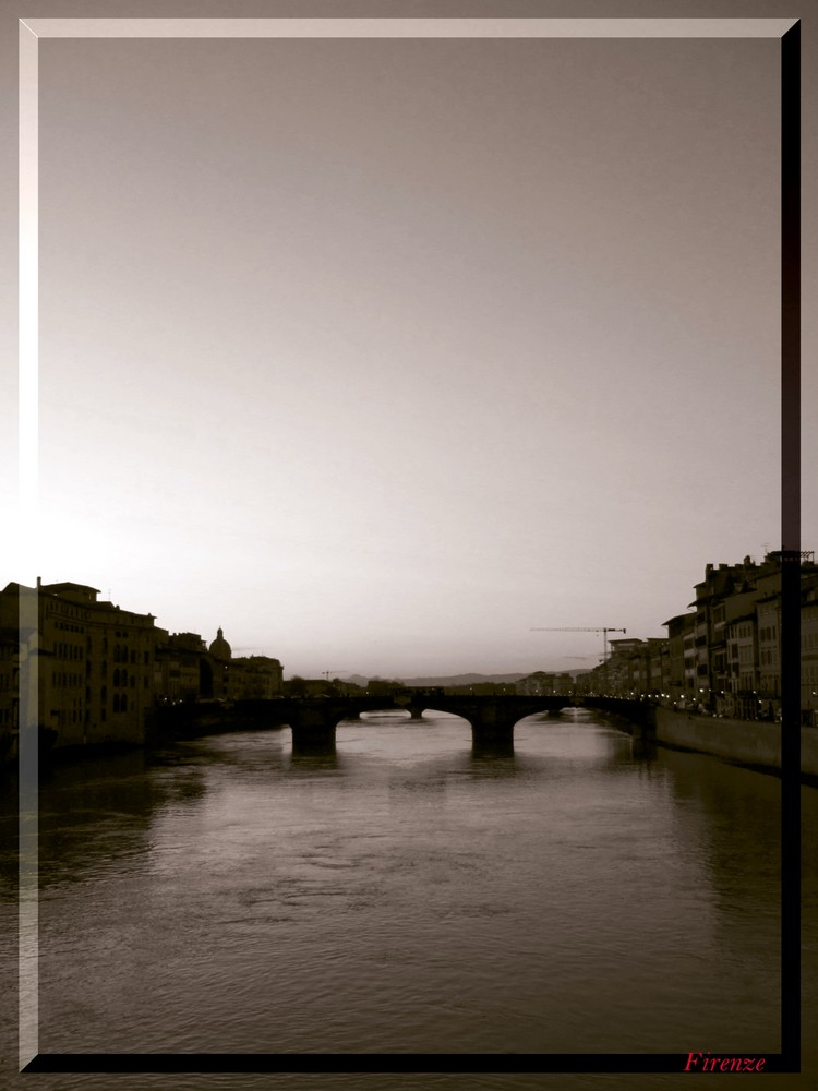 Firenze l' arno