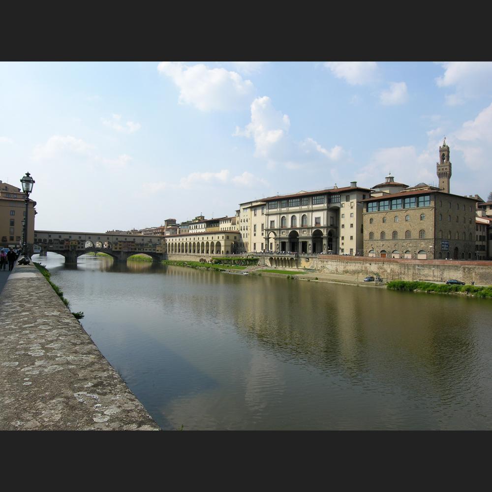 Firenze | Lungarno - Rohbild