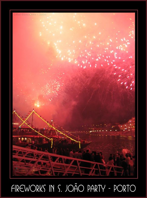 Fireworks in Porto Town Fest - 2006 - São João
