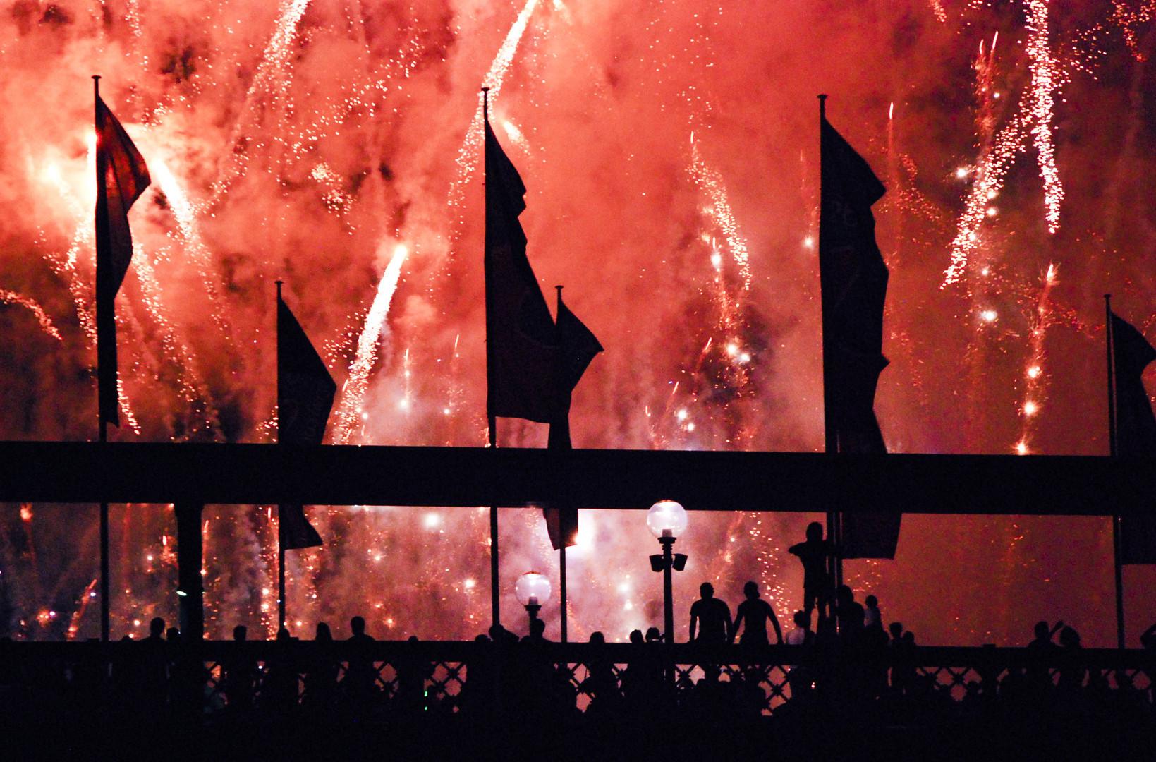 Fireworks Revellers