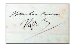 firma di napoleone ...