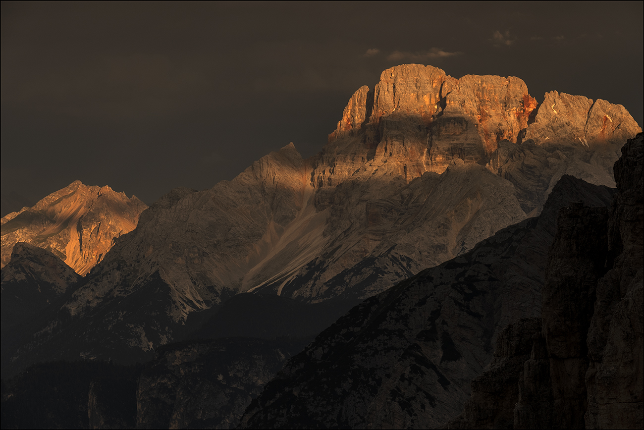 *First light in the Mountains*