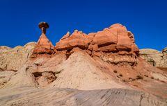First Toadstool 4, Paria Rimrocks, Utah, USA