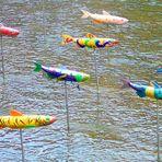 Fisch am Stiel