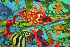 Fische bunt