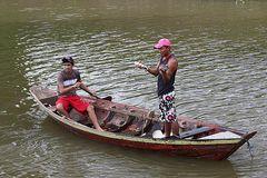 Fischer af dem Amazonas Brasilien
