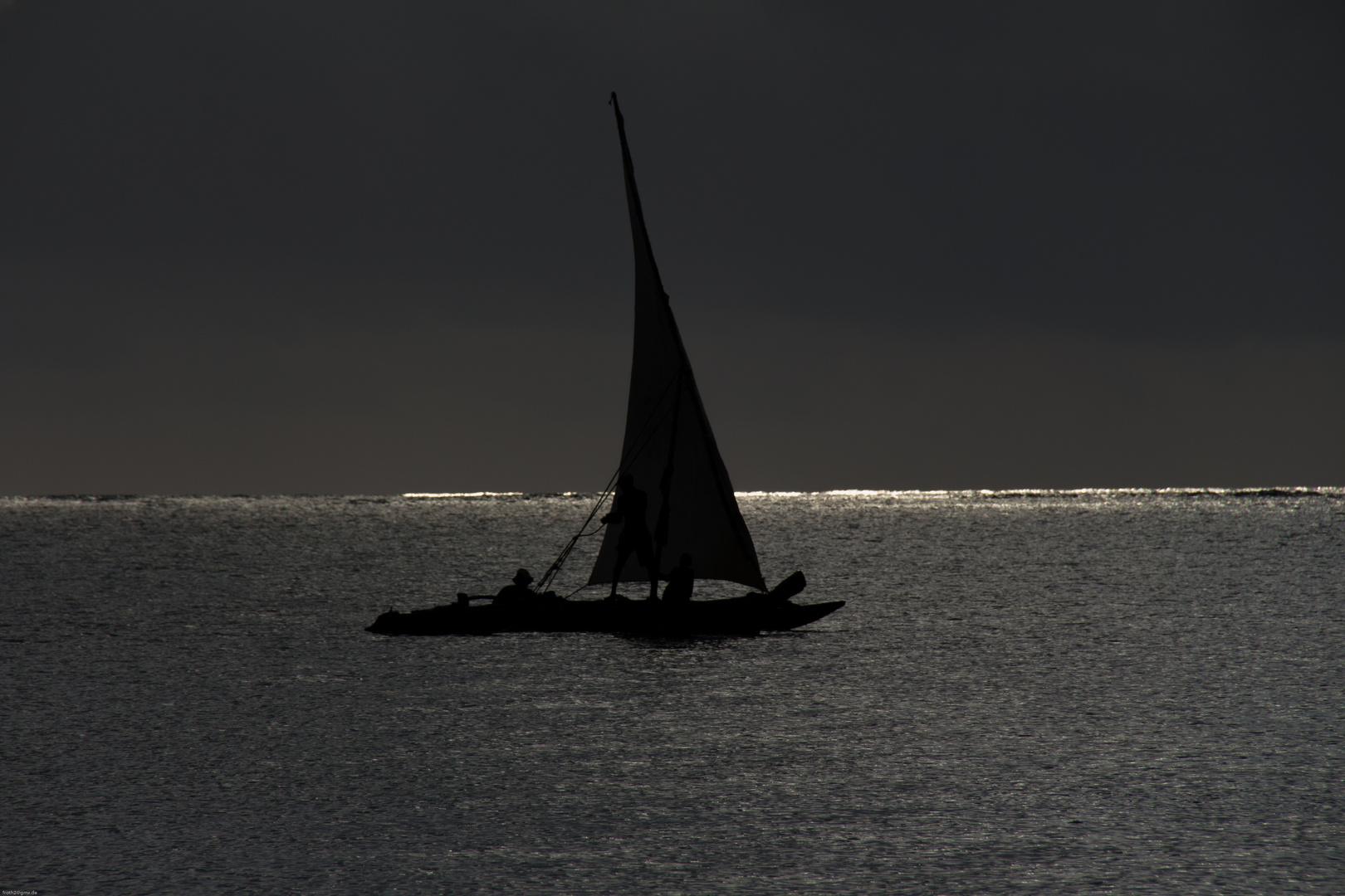 Atlantik Trifft Auf Indischen Ozean