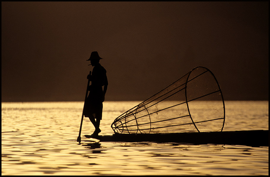 Fischer am Inle See, Myanmar
