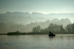 Fischer am Lago di Varese