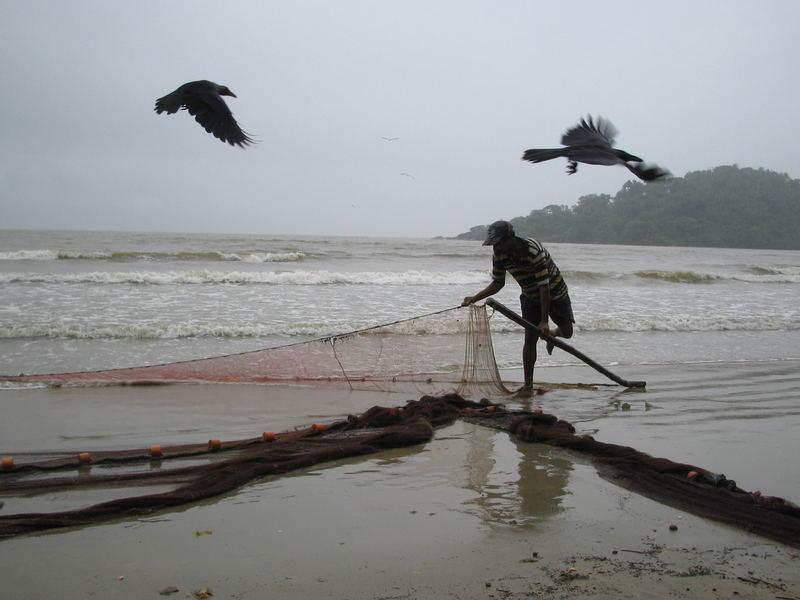 Fischer am Palolem Beach