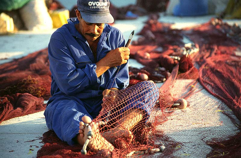 Fischer auf Amorgos