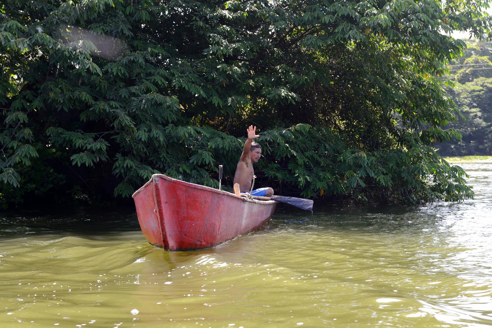 Fischer auf dem Nicaraguasee