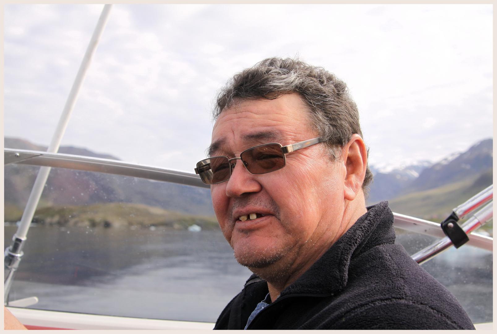 Fischer auf Grönland